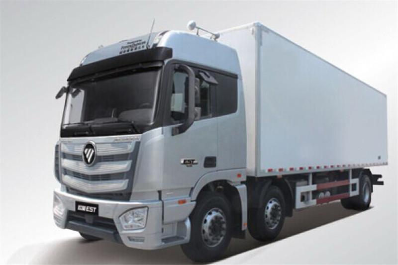 福田 欧曼EST 6系重卡 245马力 国五 6X2 9.53米冷藏车(435后桥)(BJ5259XLC-AA)