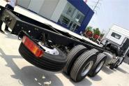 福田 欧曼EST 6系重卡 245马力  国五6X2 9.5米仓栅式载货车(BJ5209CCY-AA)