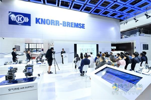 克诺尔产品在上海车展展示