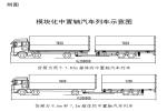 交通部将开启模块化中置轴汽车列车示范运行